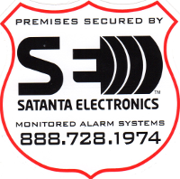 Satanta Electronics Monitored Alarm Systems